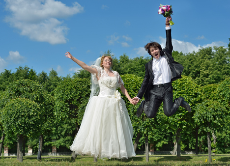 Bildergalerie ~ Freudensprung ~ Real Weddings
